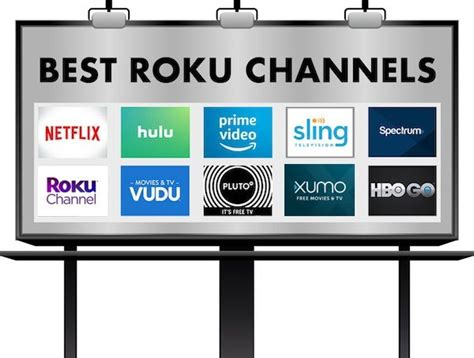 roku channels rock streaming movies sling