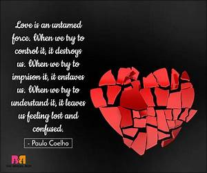 15 Confused Love Quotes: Coz Love is Chaos And Disaster