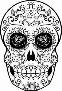 Crane Mexicain Dessin : dessins de tete de mort colorier coloriage gratuit dessins 2019 ~ Melissatoandfro.com Idées de Décoration