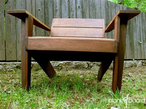 custom  modarondack modern adirondack chair  plank