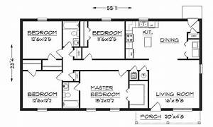 Small House Floor Plans Under 1000 Sq FT Simple Small ...