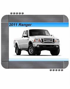 Ford Ranger 2011 Factory Service  U0026 Shop Manual