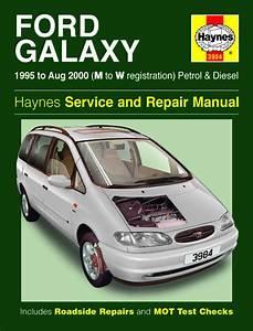 Haynes Manual Ford Galaxy Petrol  U0026 Diesel  1995