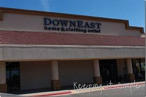 Downeast home and clothing outlet o keeping it simple for Downeast home furniture outlet