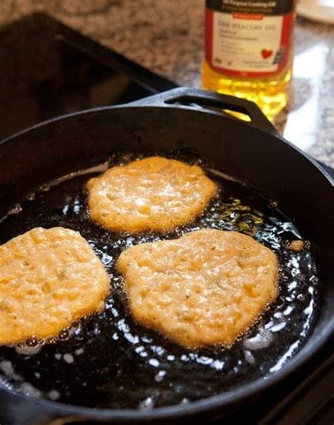 corn griddle cakes  green chilies macheesmo