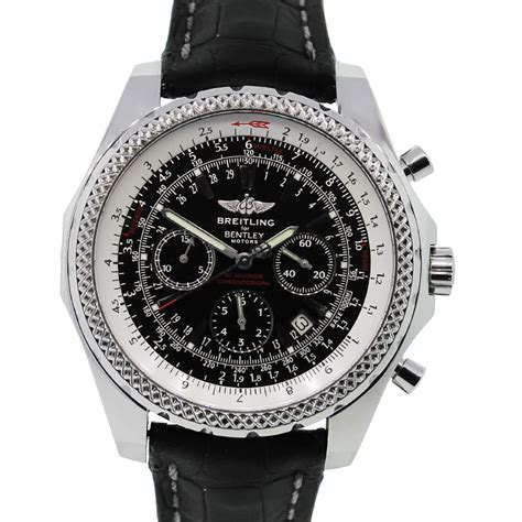 bentley breitling breitling for bentley a25962 black dial special edition watch