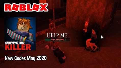 Today we play a new game called roblox survive the killer! Roblox Codes For CHUCKY Survive The Killer! May 2020 - YouTube