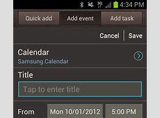 Default Calendar when adding appointment Android Forums