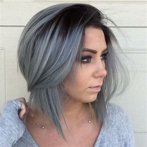 black and gray hairstyles tips on how to dye hair gray cruckers