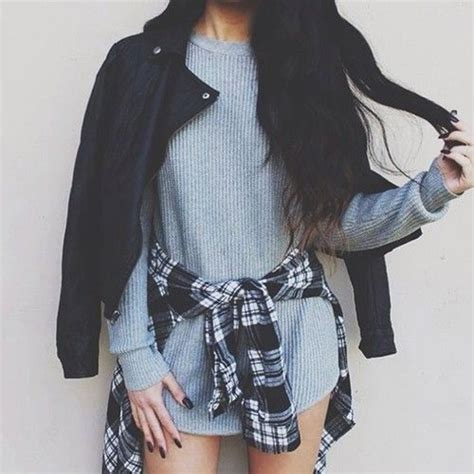 Clothes fashion flannel goals grunge - image #3794167 by marine21 on Favim.com