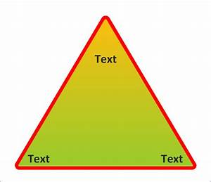 Triangle Chart - Template