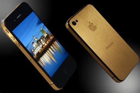 iphone 4 gold iphone 4s gold staggering 9 3m price tag to sweep you