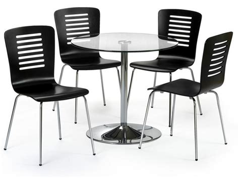 kelso glass chrome dining table sale now on your price