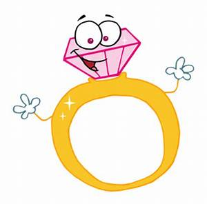 engagement ring cartoon 4 diamonds are a girl39s best With cartoon wedding ring