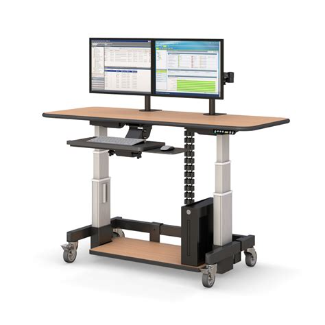 adjustable sit stand desk height adjustable sit stand desk afcindustries com