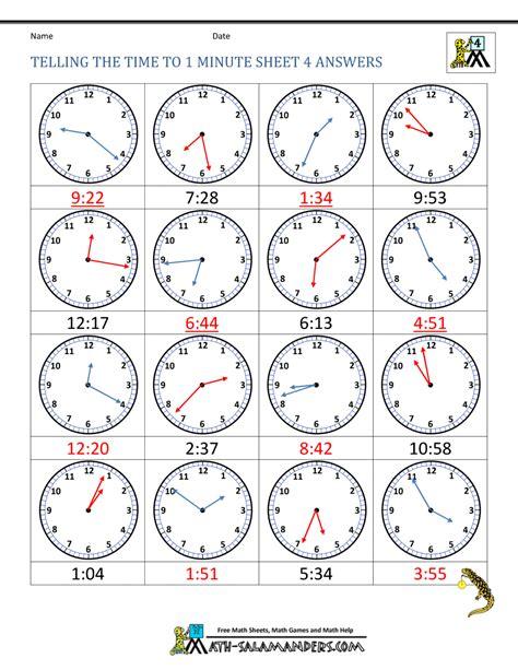 worksheet clock faces worksheets grass fedjp worksheet