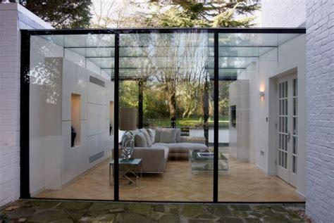 véranda fer forgé veranda verriere moderne veranda et abri jardin