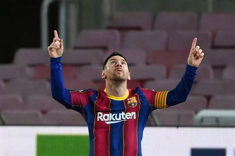 Messi scores record 650th goal for Barca | Daily Sabah
