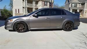 Acura TL Custom Wheels Avant Garde M580 19x85 ET 35 Tire Size 24535 R19 X ET