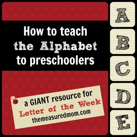teaching letter sounds to preschoolers how to teach the alphabet to preschoolers letter of the 845