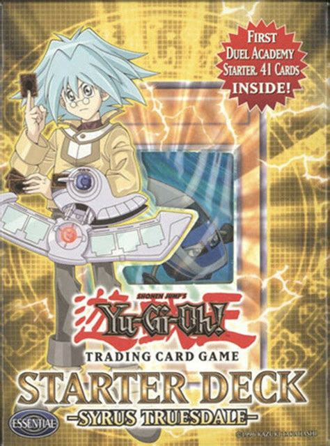 syrus yu gi oh deck truesdale cards starter gx yugioh card selection duel academy trading decks bbtoystore