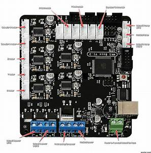 Tevo Tarantula Power Wiring Diagram