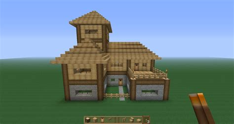 house plan creator minecraft survival house tutorial