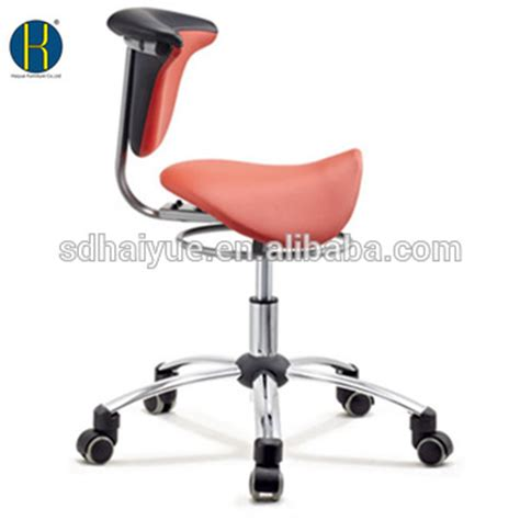 new pu leather ergonomic dental assistant chair saddle