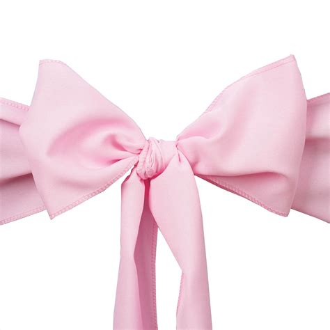 20 polyester chair sashes ties bows wedding ceremony
