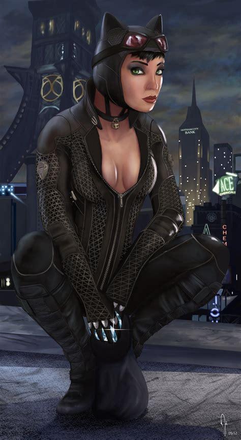 Batman Arkham City Catwoman By Ruddsart On Deviantart