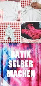 Batiken Muster Vorlagen : batik selber machen diy anleitung f r t shirts batikfarben diy ideen basteln und ~ Watch28wear.com Haus und Dekorationen