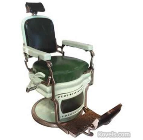 koken barber chairs value antique barber advertising store collectibles price