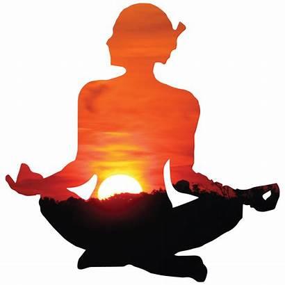 Yoga Meditation Surya Namaskara Poses Transparent Gambar