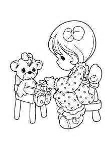 Precious Moments Bear Coloring Pages