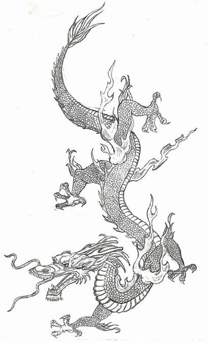 Chinese Dragon Japanese Tattoo Dragons Designs Tattoos