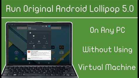 run android  lollipop   pc windows