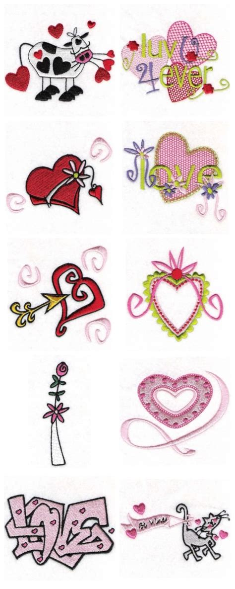 valentine embroidery designs embroidery origami