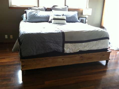 diy king bed frame build platform bed frame diy Diy King Bed Frame