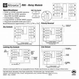 Altronix Rb5 Installation Instructions User Manual