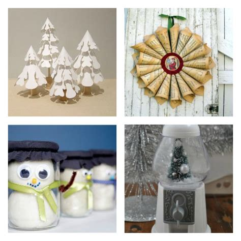 49 cheap homemade christmas crafts