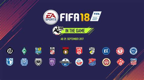 In the german football league system, it is positioned between the 2. German 3. Liga Features in FIFA 18 - FIFPlay
