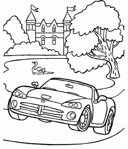 Coloring Dodge Pages Viper Drag Ram Classic