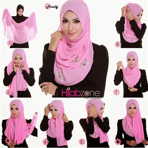 pakai hijab shawl  hijab tutorial hijabiworld