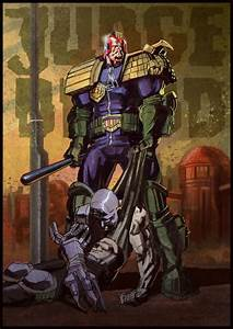 23 best images about Comic Art: Judge Dredd on Pinterest ...