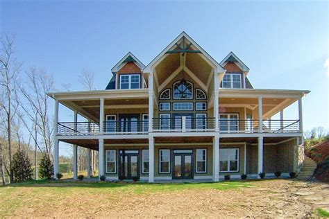Retreat with Full Wraparound Porch in 2020 House plans