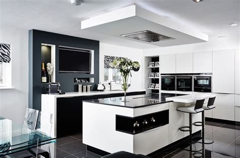 black white kitchen designs cuisine moderne adoptez la v 244 tre 7830
