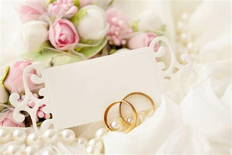 holiday wedding wedding rings blue lace card hd wallpaper