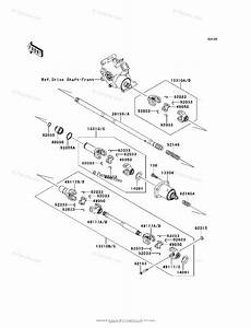 Kawasaki Side By Side 2011 Oem Parts Diagram For Drive