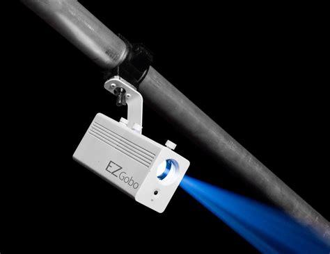 chauvet ezgobo led battery powered gobo projector