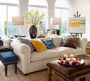 pottery barn tufted leather sofa farmhouse style the With cleaning pottery barn upholstery